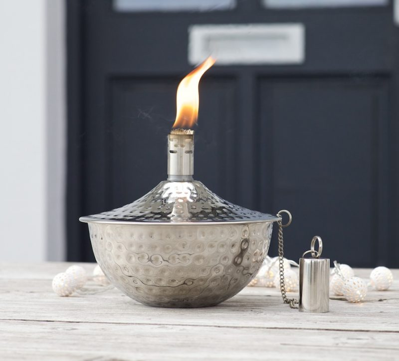 stainless steel citronella burners