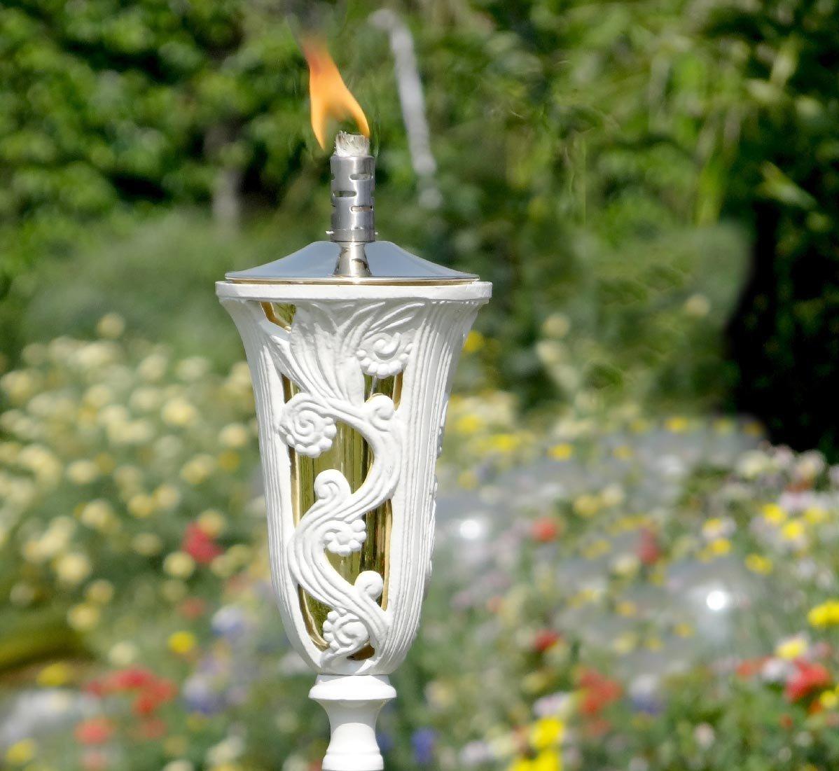 garden oil torch white za za homes