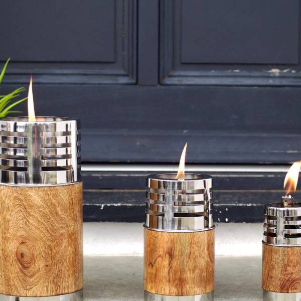 Garden Oil Torches and Lamps