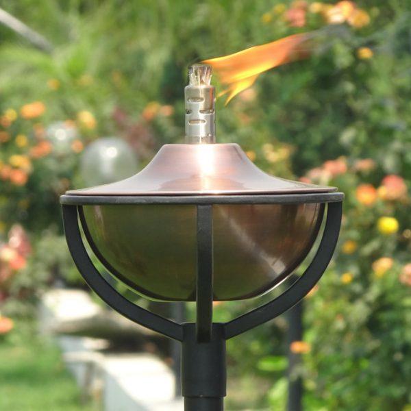 Aged Copper Garden Oil Torch CLASSICA