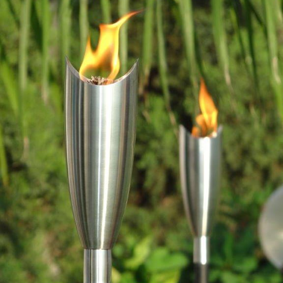 paraffin garden torches