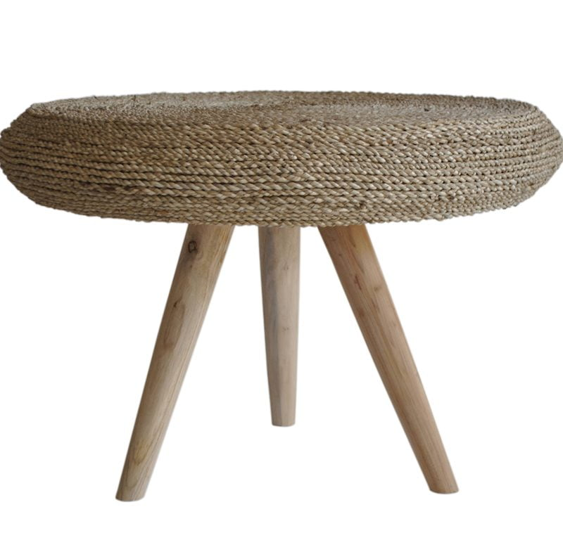 Rattan Round Coffee Table Uk: Rustic Round Wicker Coffee Table