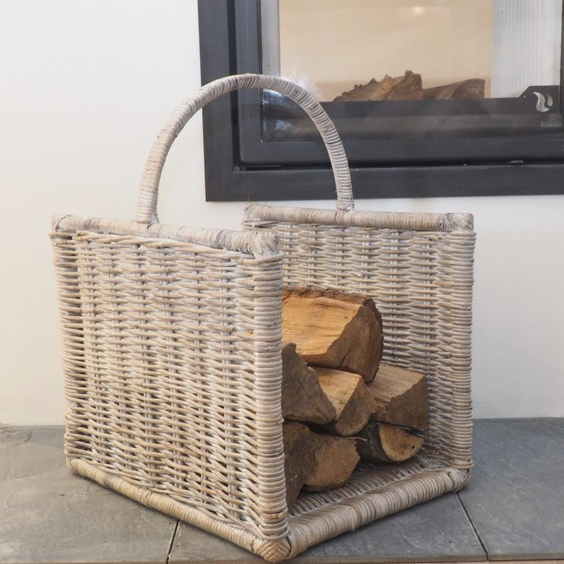 basket for wood logs