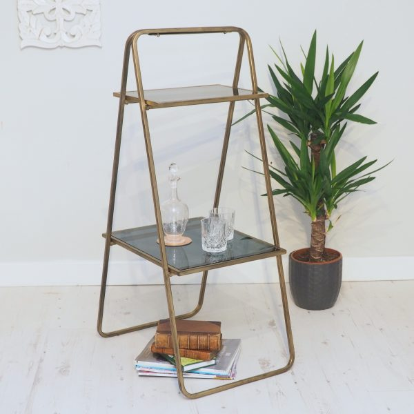brass display stand